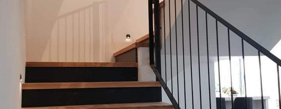מדרגות פרקט למינציה